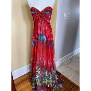 Jovani Strapless Gown